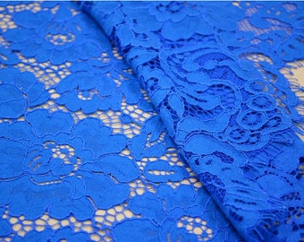 Blue Eyelash Lace Fabric ,Evening Dress Lace Fabric,150*150cm per pc