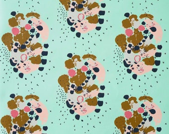 Wallpaper - Paint Blossoms by January Prints