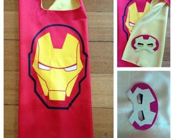 Iron Man Cape & Mask Set