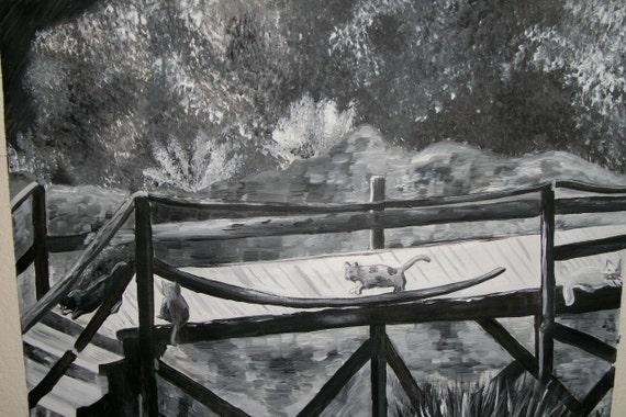 painting--- Catty Bridge