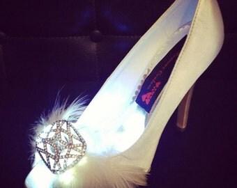 Light up wedding heels