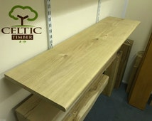 Kiln Dried Solid French Oak Boards, Shelves, Storage, 250mm wide x 20mm thick (length options available)