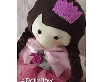 Personalised Keepsake Ballerina Doll, Babygrow doll, ballerina doll, keepsake ballerina doll, tutu doll, menory doll, collectable doll
