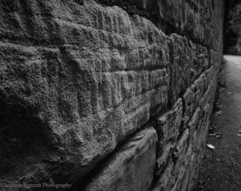Brick Wall, Texture, Photography, Print