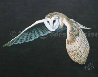 Animal Totem Greetings Cards- Barn Owl