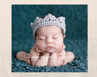 Newborn Crown // Photo Prop // Headband // Baby Gift