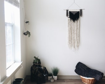 Triangle Fringe Handwoven Tapestry