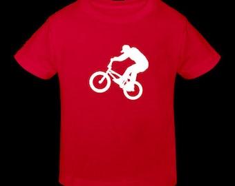 Kids biker tee t shirt