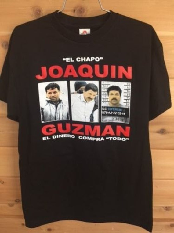 Jefe de jefes mens t shirt joaquin el chapo guzman by for Chapo guzman shirt brand