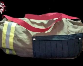 Retired Bunker Gear/Turnout Gear Duffle Bag