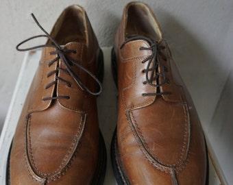 Joseph Fenestrier Men's Leather Oxford Shoes - size 10