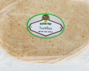 Gluten Free / Vegan Friendly Flour Tortillas