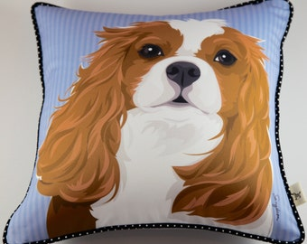 Cavalier King Charles Pillow
