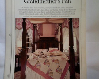 Grandmother's Fan Best Loved Quilt Pattern Oxmoor House