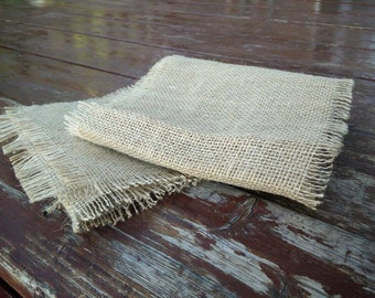 Simple Burlap Table Runner