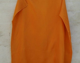 Creamsicle Orange Vintage Neck Scarf