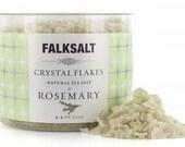 Falk Wild Garlic Crystal Flake Salt - Finishing Salt