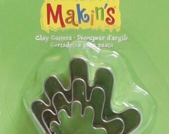 Makin's Clay Cutters (3 Pack) - Hand - Cookie Cutters