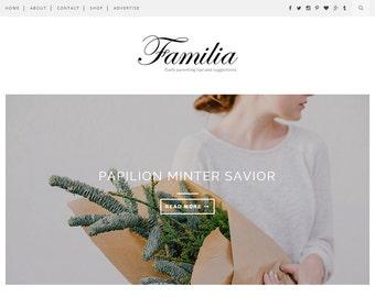 Familia - Clean & Responsive Blogger Template