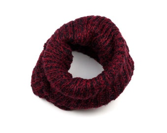 Red Knit Snood