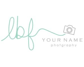 Handwritten Logo & Watermark Design - Branding - Small Business - Photography - Photographer - Hand Drawn - Script Logo - Camera Logo