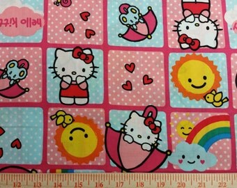 Hello Kitty Fabric By The Yard