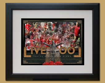 Limited Edition Print of Liverpool FC (unframed)