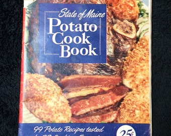 State of Maine Potato Cook Book- 1950