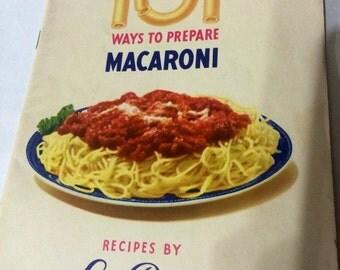 101 ways to prepare macaroni