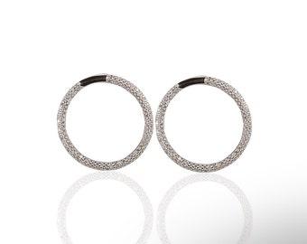 Hoop Earring 925 / Sterling Silver