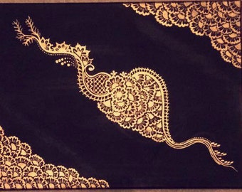 Henna Mehndi Painting