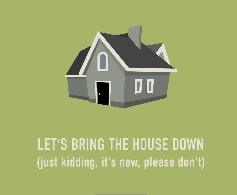 funny housewarming invites