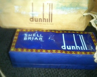 Rare Vintage Dunhill Shell Briar smoking pipe. New