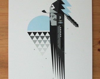 Last Wolf - Limited Edition Signed Giclee Print A4
