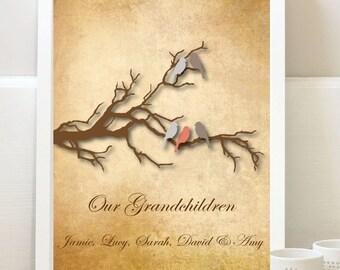 Grandchildren Print