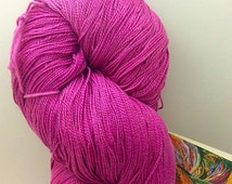 Blue Heron Egyptian Mercerized Cotton Yarn (Raspberry)