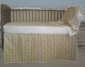 A Day At The Beach Baby Crib Bedding by Dance With Joy Baby Bedding