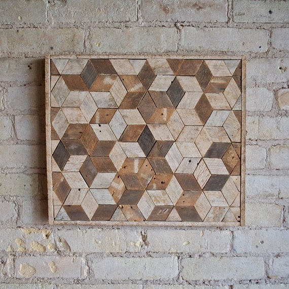Ratings Feedback For Gavan Wood Painting Decorating: Reclaimed Wood Wall Art Decor Pattern Lath 3D By