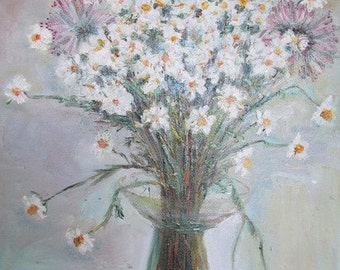 Bouquet of field daisies