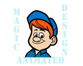 Felix Machine Embroidery Design in 4X4 ---Instant download---