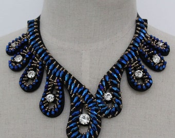 Peter Pen Collar Necklace - Detachable Collar Necklace -Statement Necklace