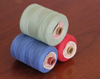 Soviet Vintage Thread Spools/ Cotton Thread/ Vintage Thread Spools/USSR Vintage/Vintage Sewing Supplies