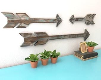 Wood Arrows, Arrow Sign, Rustic Arrow, Wall Decor, Chevron Wall Art, Wall Art, Wooden Wall Art, Wooden Arrows, Shabby Chic