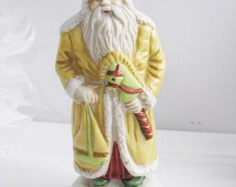 Christmas Eve, Inc. Santa Claus Figurine Ornament Limited Edition 1903 Russia, Replica, Rare Collectible