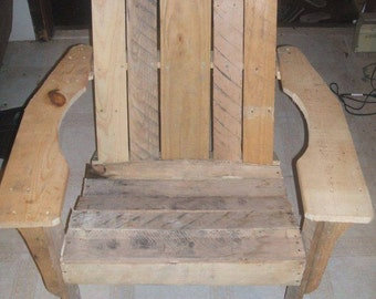 Hand Made Adirondack Chair