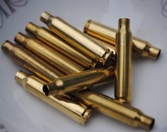Lot of 10 Used 223 Deprimed Brass Shells