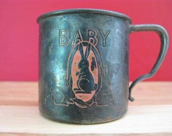Oneida Community Tudor Plate BABY Cup