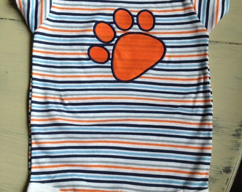 Auburn Tiger Paw Onsie