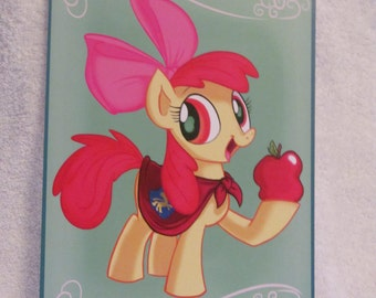 Apple Bloom - My Little Pony - Brony Character - Just over A5 size -