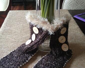 Handmade Crochet Booties